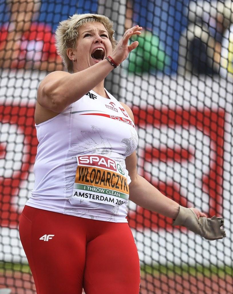 Anita Włodarczyk mogła być zadowolona ze swojego występu /AFP