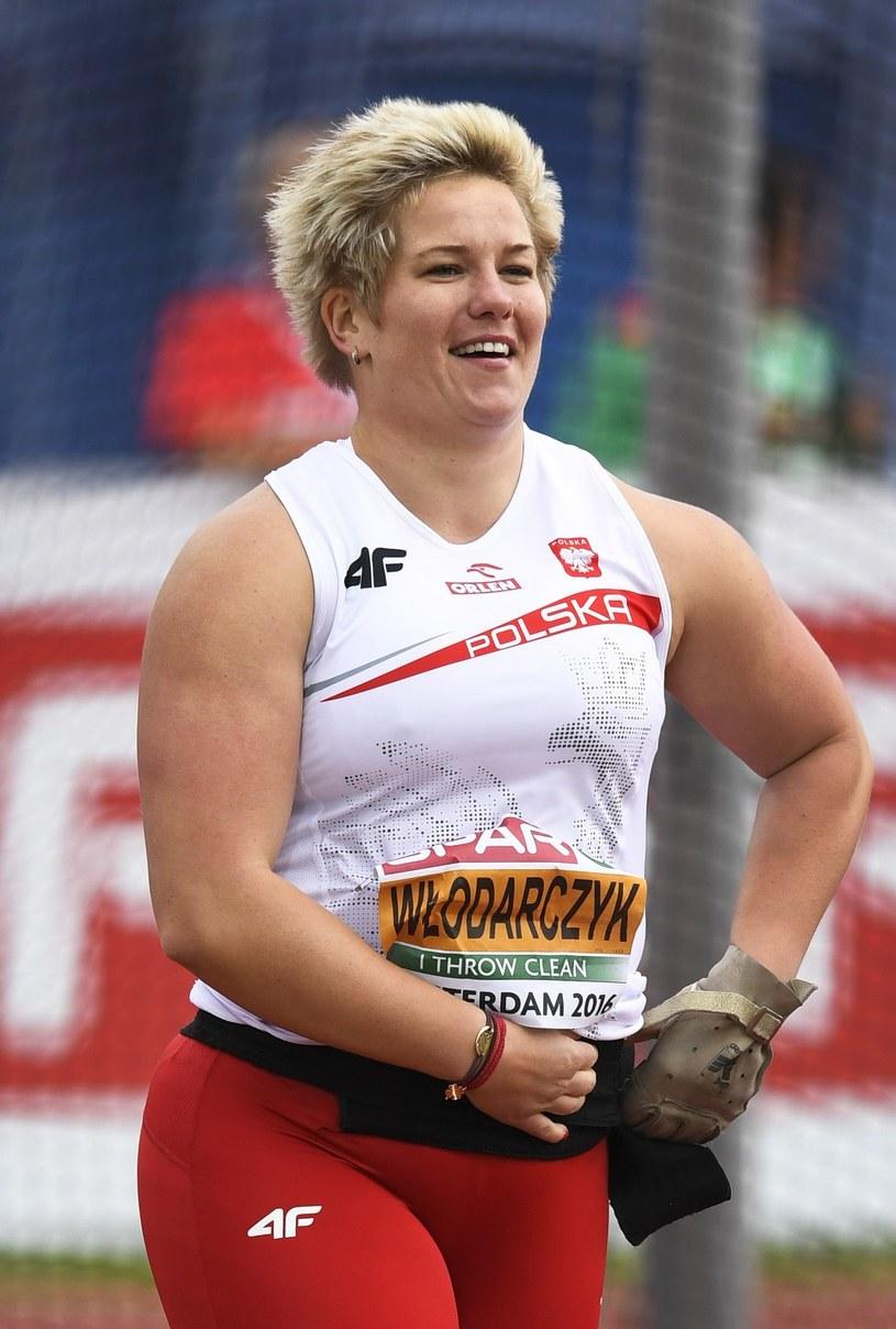 Anita Włodarczyk na mistrzostwach Europy zdobyła złoty medal /Olaf Kraak /AFP