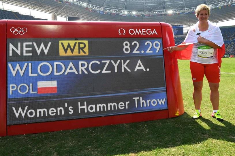 Anita Włodarczyk w Rio zarobiła najwięcej - nawet 300 tys. złotych. /AFP