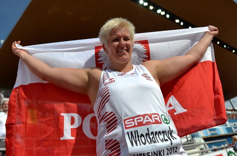 Anita Włodarczyk, wicemistrzyni olimpijska w rzucie młotem /AFP
