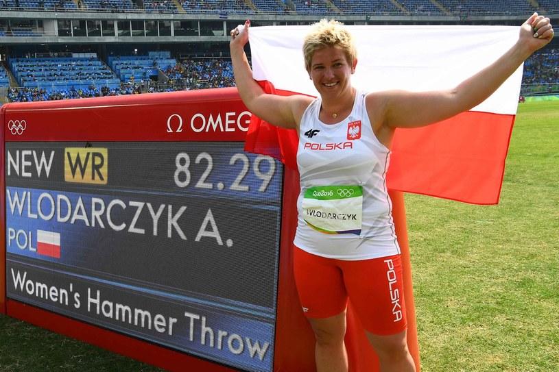 Anita Włodarczyk zdobyła złoto na igrzyskach w Rio /AFP