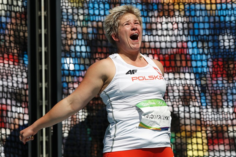 Anita Włodarczyk zdobyła złoty medal w Rio, bijąc rekord świata /AFP