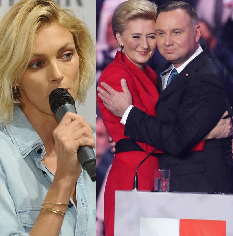 Anja Rubik, Andrzej Duda z żoną /Piotr Molecki /East News