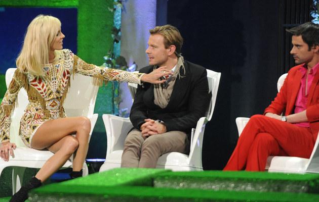 Anja Rubik, Dawid Woliński, Marcin Tyszka /Jarosław Antoniak /MWMedia