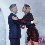 Anja Rubik i Robert Biedroń: Czułe powitanie na ściance