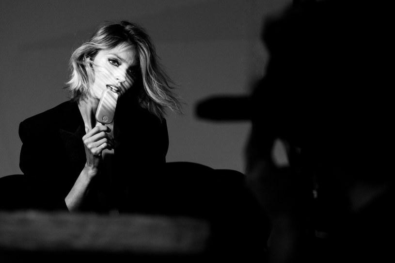Anja Rubik w najnowszej kampanii lodów Magnum /materiały prasowe