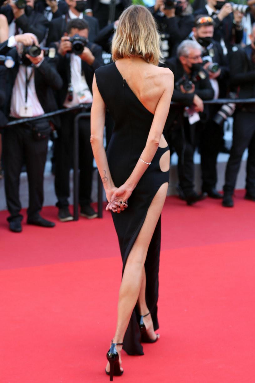 Anja Rubik zachwyciła kreacją w Cannes /Zuma / SplashNews.com /East News