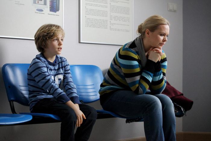 Anka jest przerażona - czeka na diagnozę syna. /Polsat