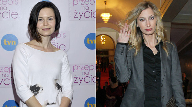 """Anka (Magdalena Kumorek) będzie musiała stoczyć bój o """"Przepis"""" z Zuzą (Magdalena Schejbal)! /Engelbrecht, Gałązka /AKPA"""