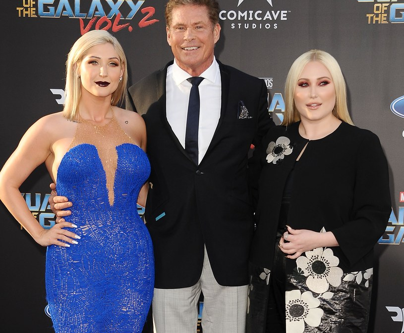 Ann Hasselhoff, David Hasselhoff i Hayley Hasselhoff /Jason LaVeris /Getty Images