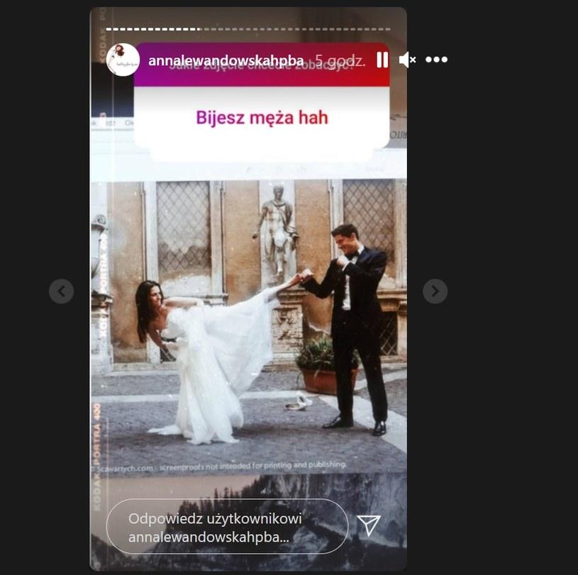 """Anna """"bijąca"""" Roberta /Instagram"""