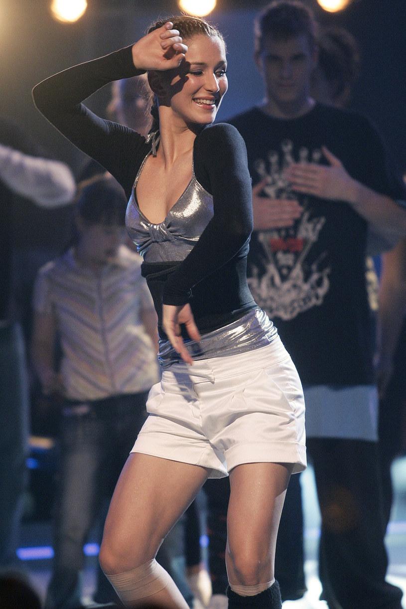 "Anna Bosak w programie ""You can dance"", 2008 rok /Baranowski /AKPA"