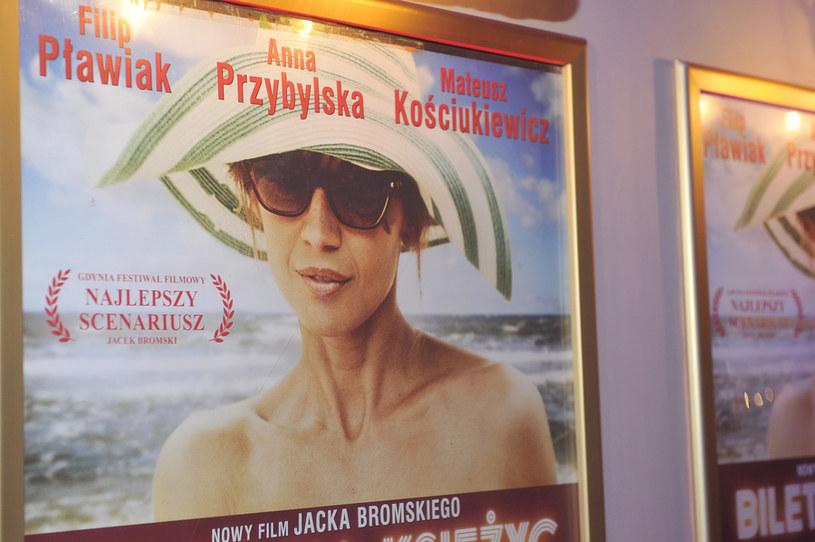Anna była obecna jedynie na plakatach /- /AKPA