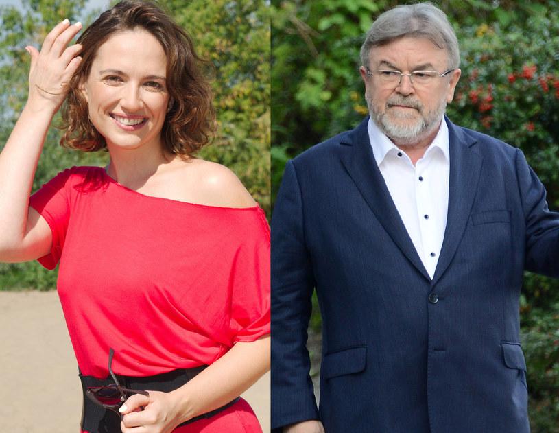 Anna Cieślak i Edward Miszczak /Radosław Nawrocki /Agencja FORUM