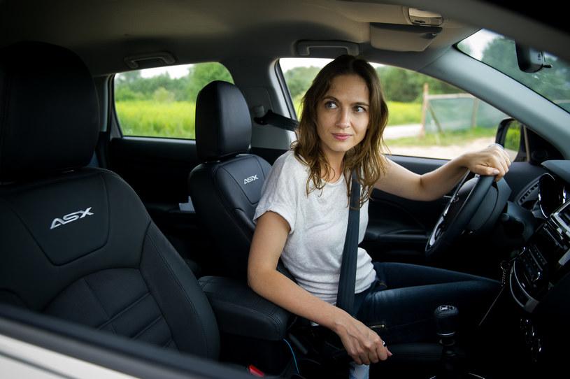 Anna Cieślak i Mitsubishi ASX /