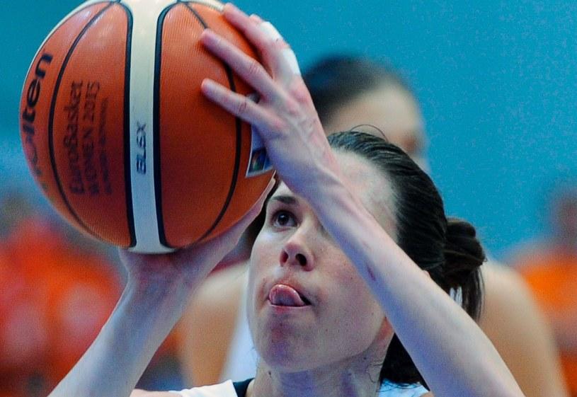 Anna Cruz, koszykarka Hiszpanii /AFP