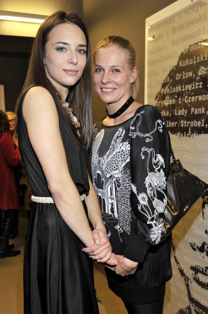 Anna Czartoryska i Paulina Andrzejewska /Euzebiusz Niemiec /AKPA