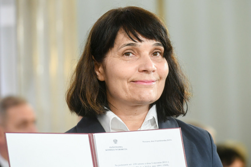 Anna Dąbrowska-Banaszek, mama Kuby /Jacek Dominski/ /Reporter