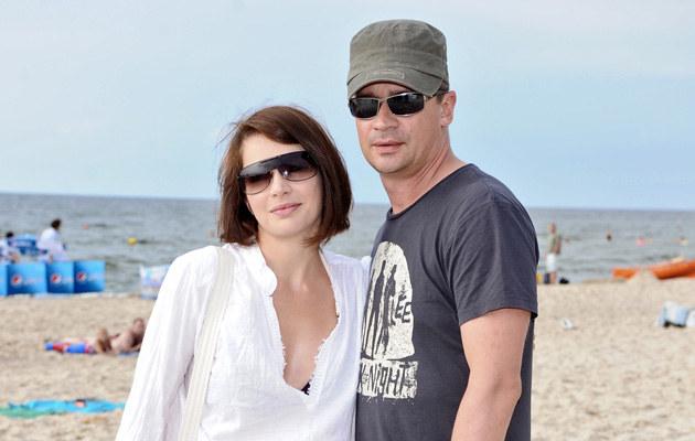 Anna Dereszowska i Piotr Grabowski  /MWMedia