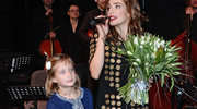 Anna Dereszowska jednak ochrzci 8-letnią córkę!