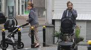 Anna Dereszowska na pierwszym spacerze z synkiem!