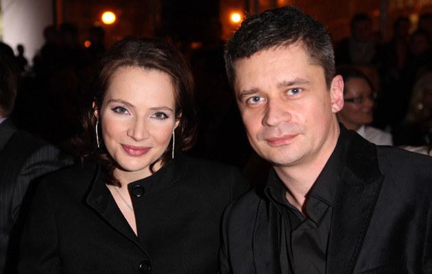 Anna Dereszowska, Piotr Grabowski /fot.Krzysztof Jarosz  /Agencja FORUM
