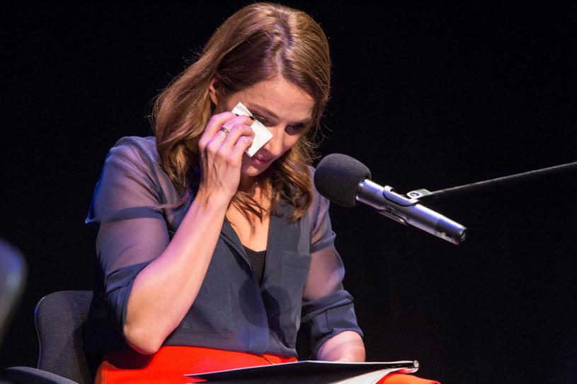 Anna Dereszowska pozwala sobie na łzy i chwile słabości /Piotr Hukalo/East News /East News
