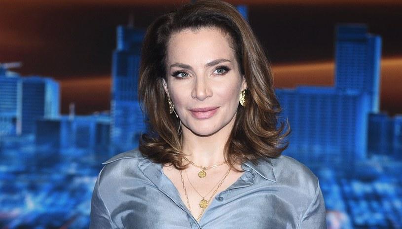 Anna Dereszowska spodziewa się dziecka. Aktorka jest już mamą już mamą Leny oraz Maksymiliana /Andras Szialgyi /MWMedia