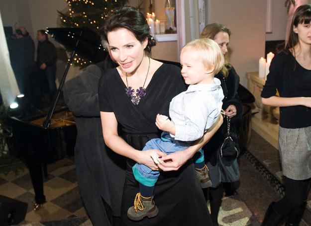 Anna Dereszowska z córką/fot. Jarosław Antoniak /MWMedia