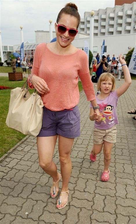Anna Dereszowska z córką /Agencja W. Impact