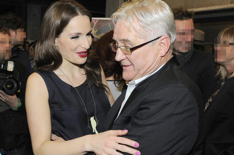 Anna Dereszowska z tatą /Tricolors /East News
