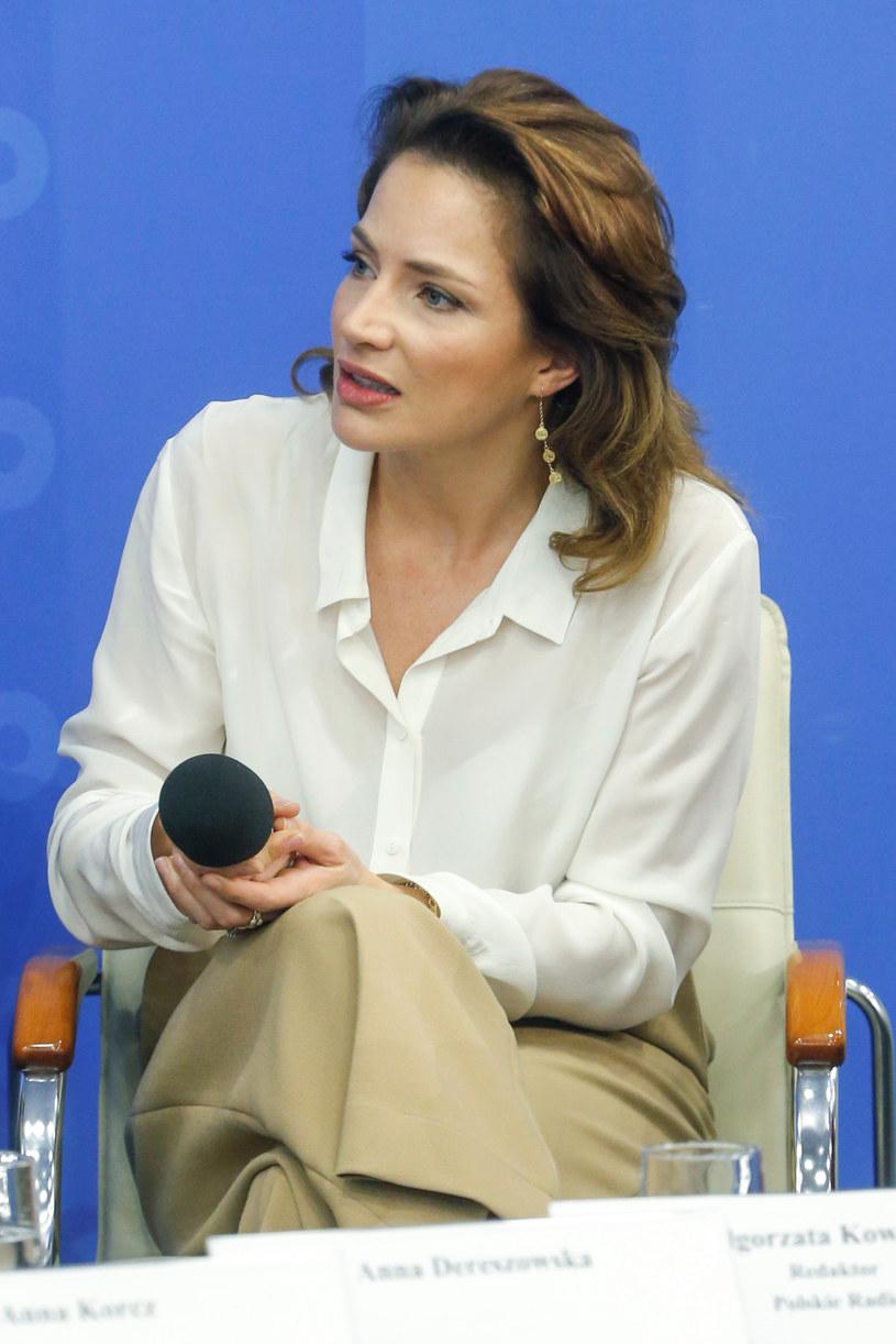 Anna Dereszowska /Krzemiński Jordan /AKPA