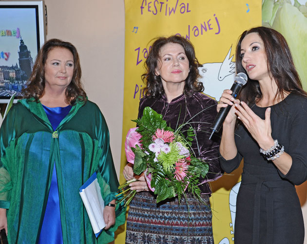 Anna Dymna, Halina Frąckowiak, Justyna Steczkowska, fot.Andras Szilagyi  /MWMedia