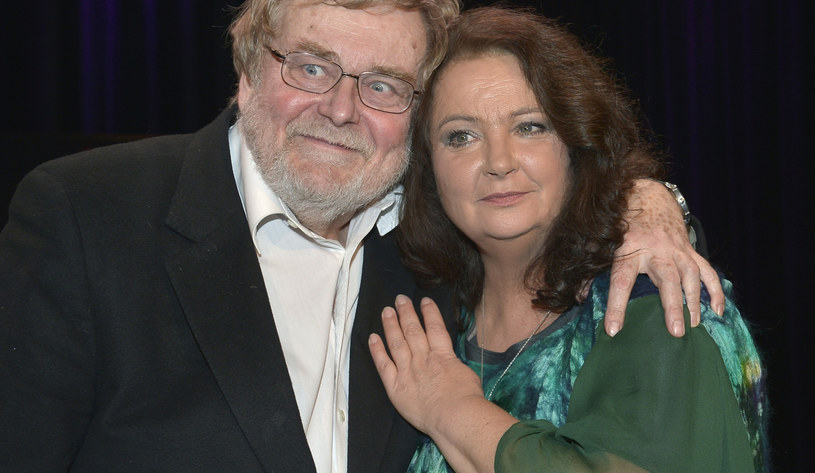 Anna Dymna i Krzysztof Orzechowski /Gałązka /AKPA