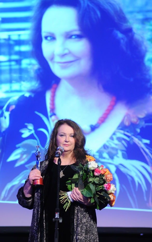 Anna Dymna na co dzień mocno angażuje się w akcje charytatywne /MWMedia