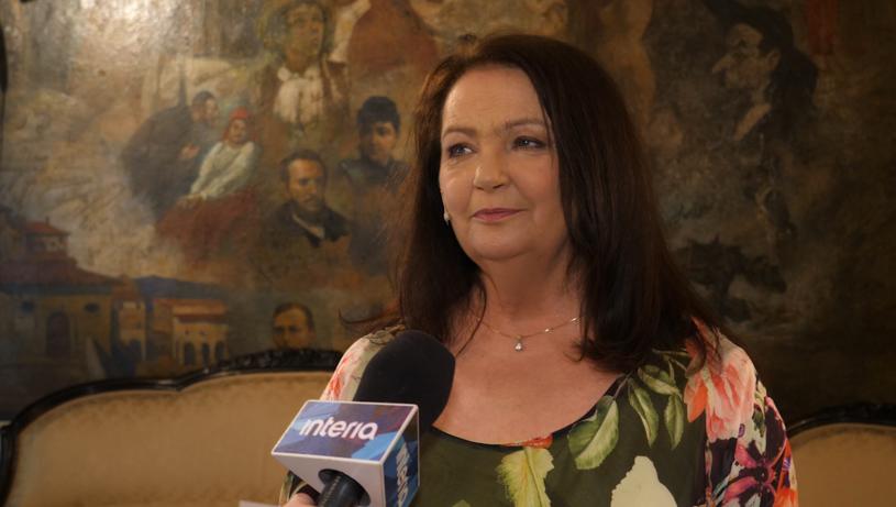 """Anna Dymna świętuje osiemnaste urodziny  """"Albertiany"""" /Krzysztof Zając /Styl.pl"""
