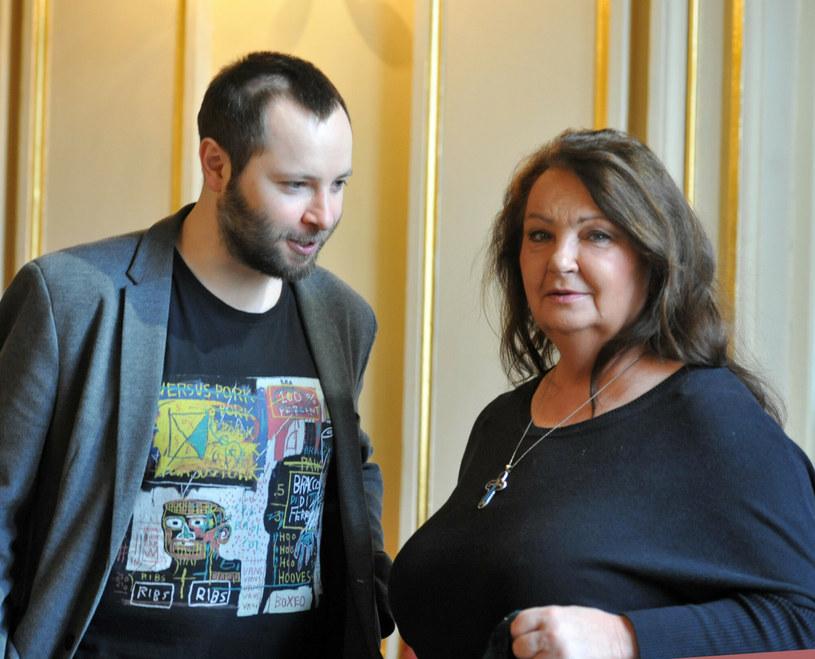 Anna Dymna z synem Michałem /Waclaw Klag/ REPORTER /East News