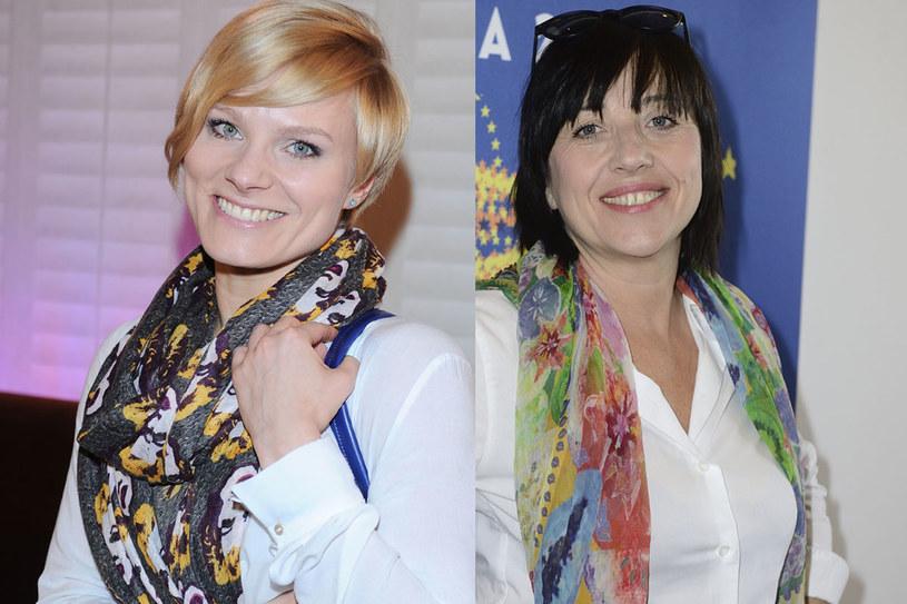 Anna Głogowska i Hanna Śleszyńska /MWMedia