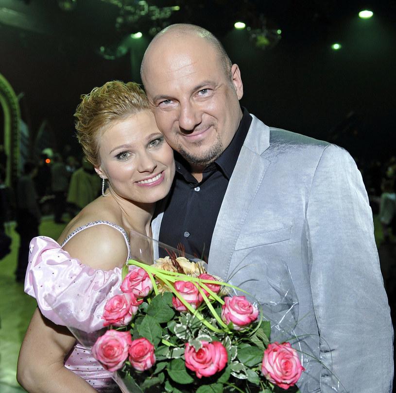 Anna Głogowska i Piotr Gąsowski w 2008 roku /Tricolors /East News