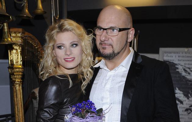 Anna Głogowska i Piotr Gąsowski /Andras Szilagyi /MWMedia