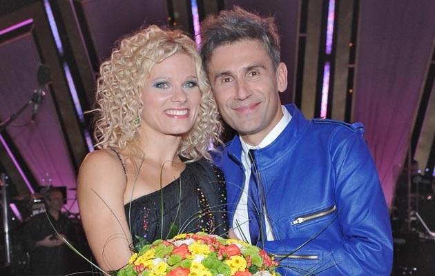Anna Głogowska i Robert Korzeniowski, fot.Andras Szilagyi  /MWMedia