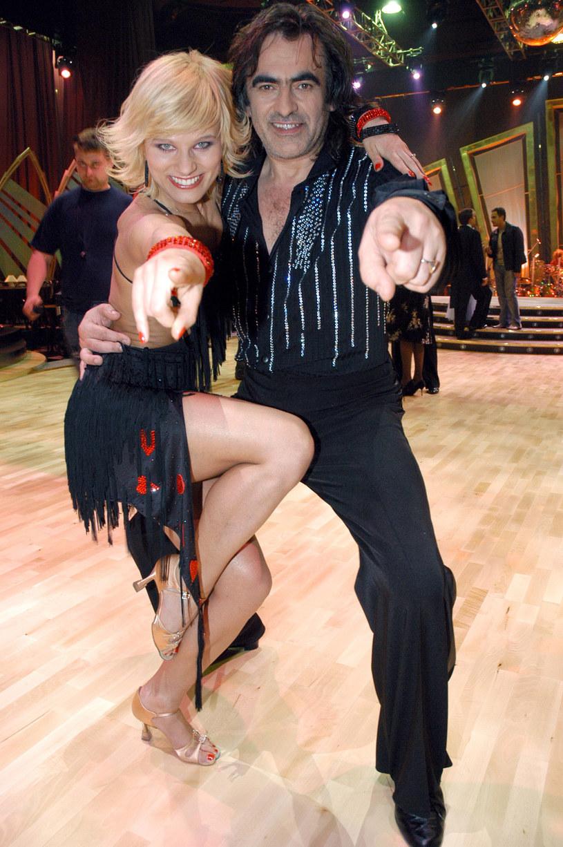 Anna Głogowska i Witold Paszt, 2005 rok /Zawada /AKPA