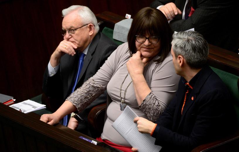 Anna Grodzka/ fot. Bartłomiej Zborowski /PAP