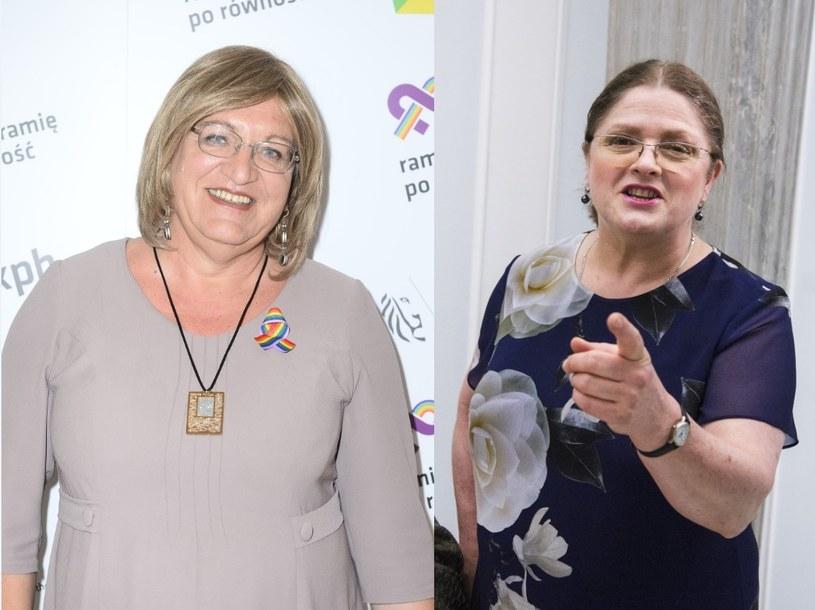 Anna Grodzka i Krystyna Pawłowicz /- /East News