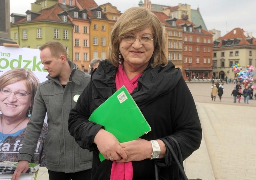 Anna Grodzka startowała z ramienia partii zielonych /Jan Bielecki /East News