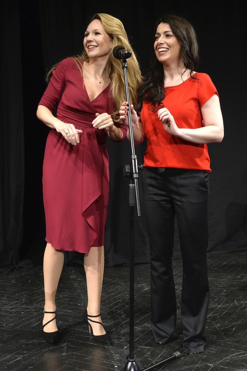 Anna Guzik i Katarzyna Pakosińska /Niemiec /AKPA
