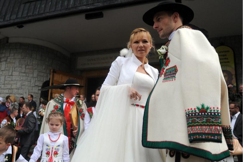 Anna Guzik i Wojciech Tylka są parą od 2010 /Maciej Gillert /East News