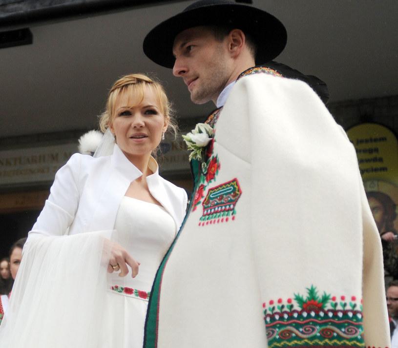 Anna Guzik i Wojciech Tylka /- /East News