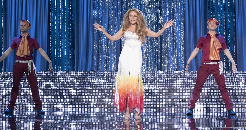 Anna Guzik jako Dalida /M. Zawada /Polsat