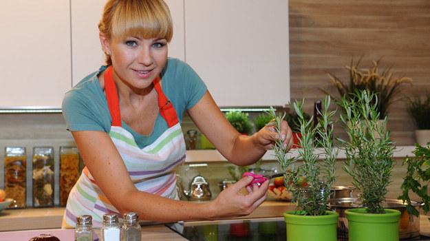 Anna Guzik jako propagatorka zdrowej diety /Polsat /materiały prasowe